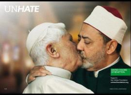 Oliviero Toscani, United Colors Of Benetton, Religiones, Provocación