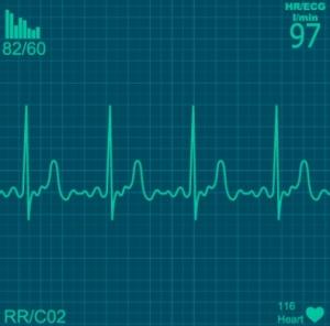 electrocardiograma, buena salud, corazón, cafés y fotocopias, social media, comunicación,