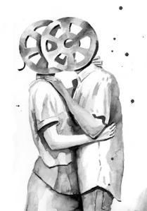 Javier Infante, Ilustración, Dibujo, Cinema Lovers