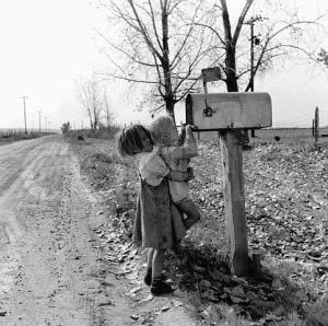 Children Checking the Mail